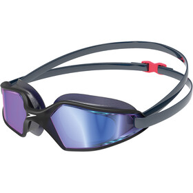 speedo Hydropulse Mirror Goggles, navy/oxid grey/blue